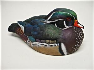 LIFE-SIZE WOOD DUCK